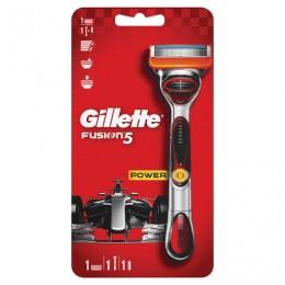 Бритва GILLETTE (Жиллет) FUSION Power, бритва с 1 сменной кассетой, для мужчин, 50016247