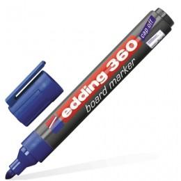 Маркер для доски EDDING 360, 1,5-3 мм, круглый наконечник, синий, E-360/3