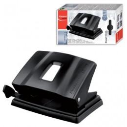 Дырокол MAPED (Франция) Essentials Metal, металлический средний, на 25 листов, черный, 402411