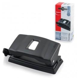 Дырокол MAPED (Франция) Essentials Metal, металлический, малый, на 12 листов, черный, 401111