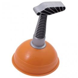 Вантуз для раковин и ванн, диаметр 13 см, высота 20 см, оранжевый, SV3214РЖ