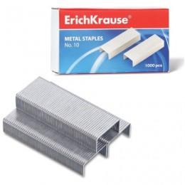 Скобы для степлера №10, 1000 штук, ERICH KRAUSE, до 20 листов, 1188