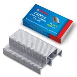Скобы для степлера BEIFA (Бэйфа) № 24/6, 1000 шт., в картонной коробке, до 30 листов, S211