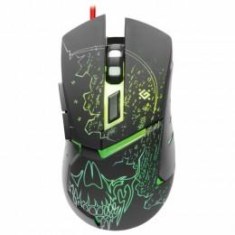 Мышь проводная игровая DEFENDER Alfa GM-703L, USB, 6 кнопок+1 колесо-кнопка, оптическ, 52703