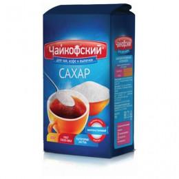 Сахар-песок Чайкофский, 0,9 кг, высший сорт по ГОСТу, бумажный пакет