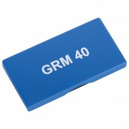 Подушка сменная 59х23 мм, для GRM 40, Colop Printer 40, синяя, GRM 40, 178406004