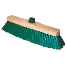 Щетка для уборки, ширина 32 см, щетина 7 см, деревянная, крепление еврорезьба, YORK Sara, 200