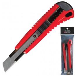 Нож универсальный 18 мм LACO (ЛАКО, Германия), автофиксатор, корпус ассорти, + 2 лезвия, C 18