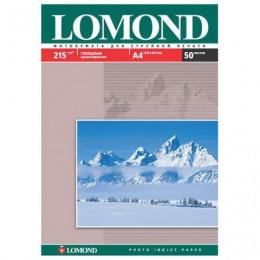 Фотобумага LOMOND для струйной печати, А4, 215 г/м2, 50 л., односторонняя глянцевая, 0102057