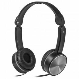 Наушники с микрофоном (гарнитура) DEFENDER Accord 145, проводные, 1,2 м, с оголовьем,, 63145