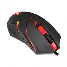 Мышь проводная игровая REDRAGON Centrophorus, USB, 5 кнопок + 1 колесо-кнопка, оптическая, черная, 70235