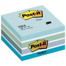 Блок самоклеящ. (стикер) POST-IT ORIGINAL Голубая Пастель 76х76 мм, 450 л., ассорти, 2028-B