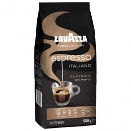 Кофе в зернах LAVAZZA Espresso Italiano Classico, 500 г, вакуумная упаковка, 1875