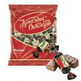 Конфеты шоколадные РОТ ФРОНТ Маска, 250 г, пакет, РФ04867