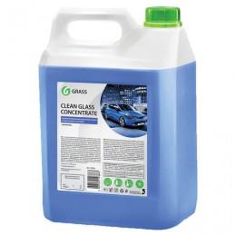 Средство для мытья стекол и зеркал 5 кг GRASS CLEAN GLASS CONCENTRATE, нейтральное, концентрат, 130101