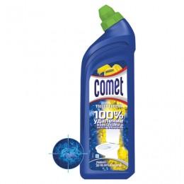 Средство для уборки туалета 700 мл COMET Лимон, дезинфицирующее