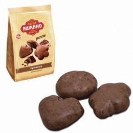 Пряники ЯШКИНО Шоколадные, в сахарной и шоколадной глазури, 350 г, ЯП901