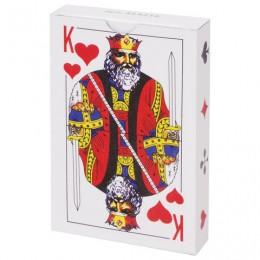 Карты игральные, 54 карты, с пластиковым покрытием, ЗОЛОТАЯ СКАЗКА, 454216