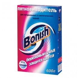 Средство для удаления пятен 600 г, BONISH (Бониш) Бережный уход и защита цвета, без хлора