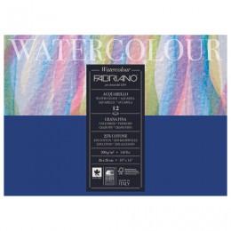 Альбом для акварели БОЛЬШОЙ А3- (260х360 мм) FABRIANO Watercolour Studio, среднее зерно, 12 л., 300 г/м2, 17312636
