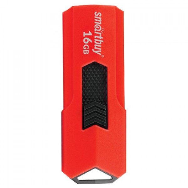 Флеш-диск 16 GB SMARTBUY Stream USB 3.0, красный, SB16GBST-R3