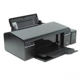 Принтер струйный EPSON L805, А4, 5760х1440 dpi, 37 стр./мин., с СНПЧ, печать на CD/DVD, Wi-Fi (без кабеля USB), C11CE86403