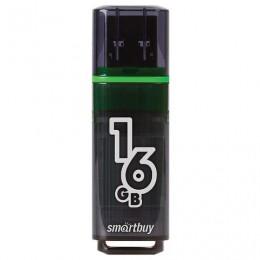 Флэш-диск 16 GB SMARTBUY Glossy USB 3.0, тёмно-серый, SB16GBGS-DG