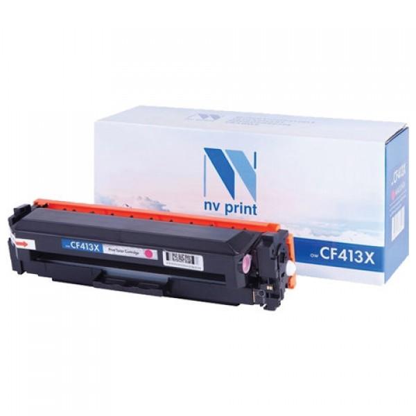 Картридж лазерный NV PRINT (NV-CF413X) для HP M377dw/M452nw/M477fdn/M477fdw, пурпурный, ресурс 5000 страниц