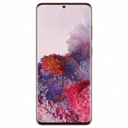 "Смартфон SAMSUNG Galaxy S20+, 2 SIM, 6,7"", 4G (LTE), 64/10 + 12 + 12 Мп, 128 ГБ, красный, металл, SM-G985FZRDSER"