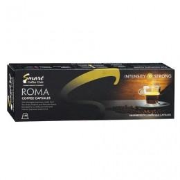 Капсулы для кофемашин NESPRESSO Roma, натуральный кофе, 10 шт. х 5 г, SMART COFFEE CLUB