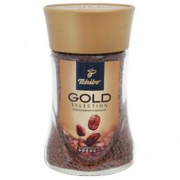 Кофе растворимый TCHIBO Gold selection, сублимированный, 95 г, стеклянная банка, 476750