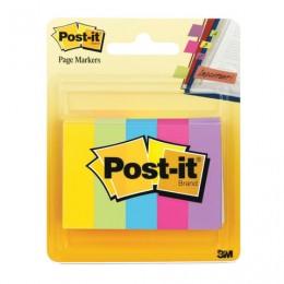 Закладки клейкие POST-IT Professional, бумажные, 12,7 мм, 5 цветов х 100 шт., 670-5AU