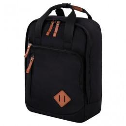 Рюкзак BRAUBERG FRIENDLY молодежный, черный, 37х26х13 см, 270089
