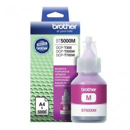 Чернила BROTHER (BT-5000М) для СНПЧ Brother DCP-T500WT700WT300, пурпурные, ресурс 5000 стр., оригинальные, BT5000M