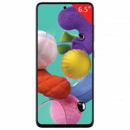 "Смартфон SAMSUNG GalaxyA51, 2 SIM, 6,5"", 4G (LTE), 32/48 + 12 + 5 + 5, 64 ГБ, красный, пластик, SM-A515FZRMSER"