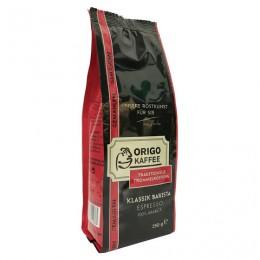 Кофе молотый ORIGO (ОРИГО) Klassik Barista, 250г, вакуумная упаковка, ш/к 50033, 3003100250