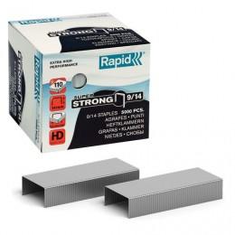 Скобы для степлера RAPID HD110 Super Strong №9/14, 5000 штук, до 110 листов, 24871500