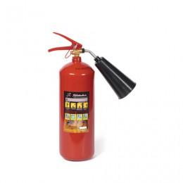 Огнетушитель углекислотный ОУ-3, ВСЕ (жидкие, газообразные вещества, электроустановки), закачной, ЯРПОЖ, 46