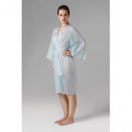 Халат-кимоно с рукавами голубой ЧИСТОВЬЕ КОМПЛЕКТ 5 шт. СМС, 24 г/м2, ш/к 02371, 02-190