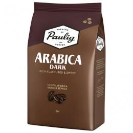Кофе в зернах PAULIG (Паулиг) Arabica DARK, натуральный, 1000 г, вакуумная упаковка, 16608