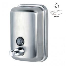 Диспенсер для жидкого мыла KSITEX, наливной, нержавеющая сталь, матовый, 1 л, SD 2628-1000М