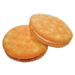 Печенье БЕЛОГОРЬЕ Кристо-Твисто, крекер с начинкой пломбирчик, 3,5 кг, вес., гофрокороб, 44-54