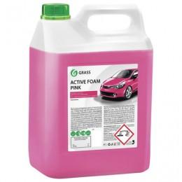 Шампунь автомобильный для автоматической и ручной мойки 6кг GRASS ACTIVE FOAM PINK
