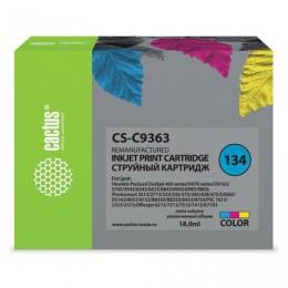 Картридж струйный CACTUS (CS-C9363) для HP Photosmart 2573/DeskJet 6943, цветной, 22 мл
