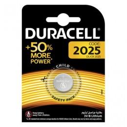 Батарейка DURACELL, CR2025, Lithium, 1 шт., в блистере, 3 В, 81575096