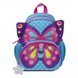 Рюкзак TIGER FAMILY (ТАЙГЕР) для дошкольников, голубой,