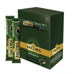 Кофе растворимый JACOBS MONARCH (Якобс Монарх), сублимированный, 1,8 г, пакетик, 41933