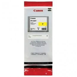 Картридж струйный CANON (PFI-320Y) для imagePROGRAF TM-200/205/300/305, желтый, 300мл, ориг, 2893C001
