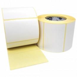 Этикетка термотрансферная ПОЛУГЛЯНЕЦ (58х40 мм), 700 этикеток в ролике, 52201