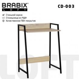 Стол на металлокаркасе BRABIX